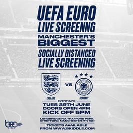 England vs Germany - Uefa Euro Live Screening