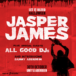 Let It Bleed Halloween with Jasper James and more