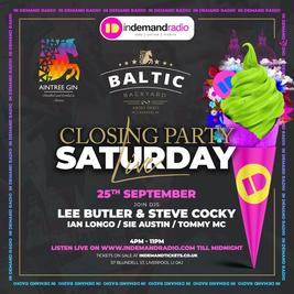 Closing party at Baltic Backyard