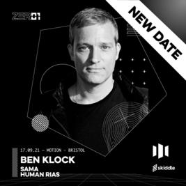 ZER01 Presents: BEN KLOCK & SAMA