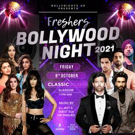 Freshers Bollywood Night 2021 // Glasgow