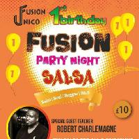 Fusion Unico Fusion Party Night 1st Birthday Celebration