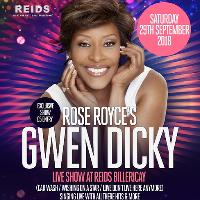 Gwen Dicky (Rose Royce) Live