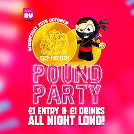 GO-NINJA POUND PARTY