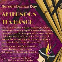 Remembrance Day afternoon tea dance