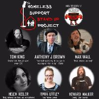 The Homeless Support Stand up Project Comedy Night