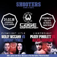 Cage Warriors 90 Showing