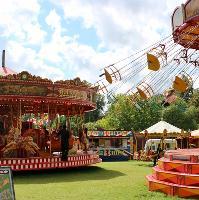 Vintage funfair in Lichfield!