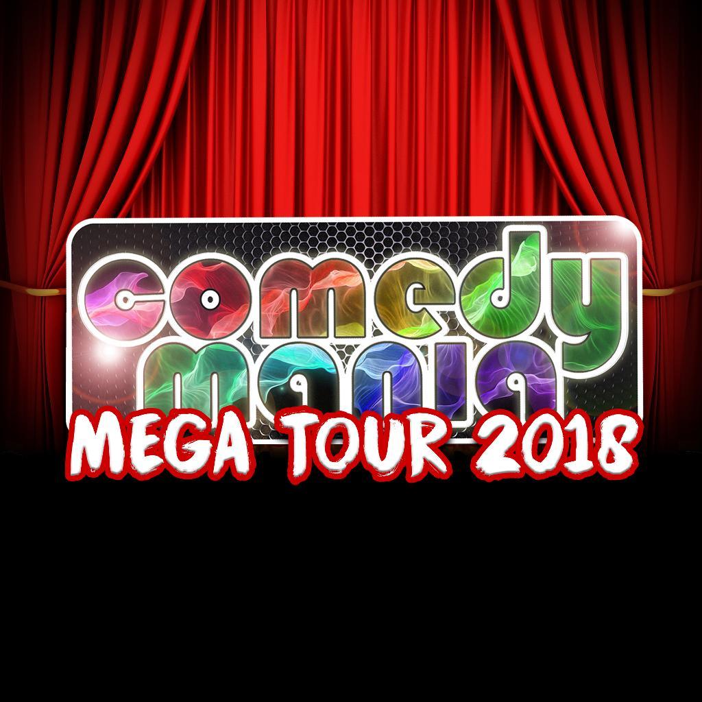 ComedyMania Mega Tour 2018 - OXFORD (Sun 4th Nov)