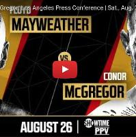 Mayweather VS McGregor, Early Bird Tickets