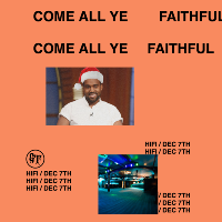 Come All Ye Faithful: A Kanye Christmas Party