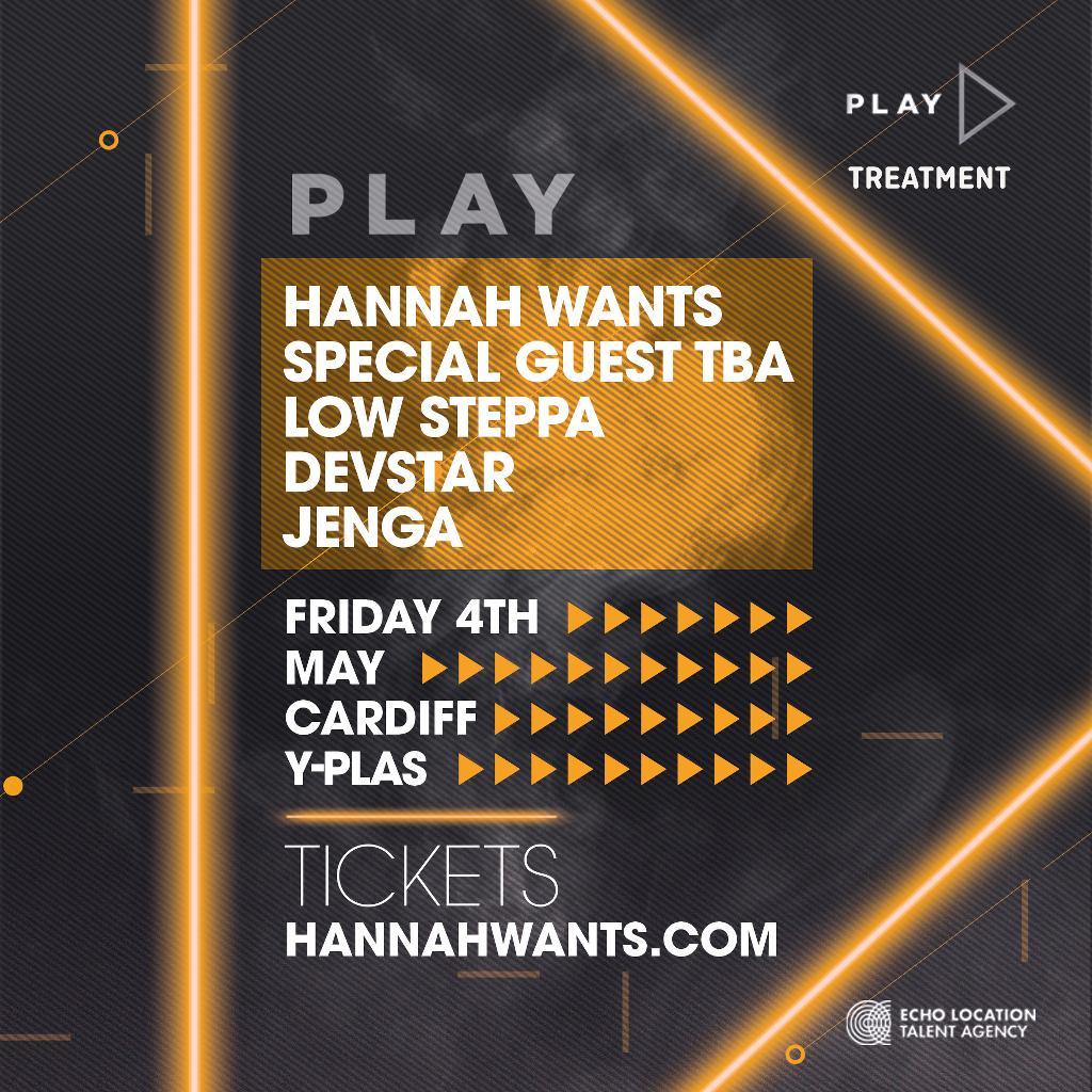 Hannah Wants presents PLAY