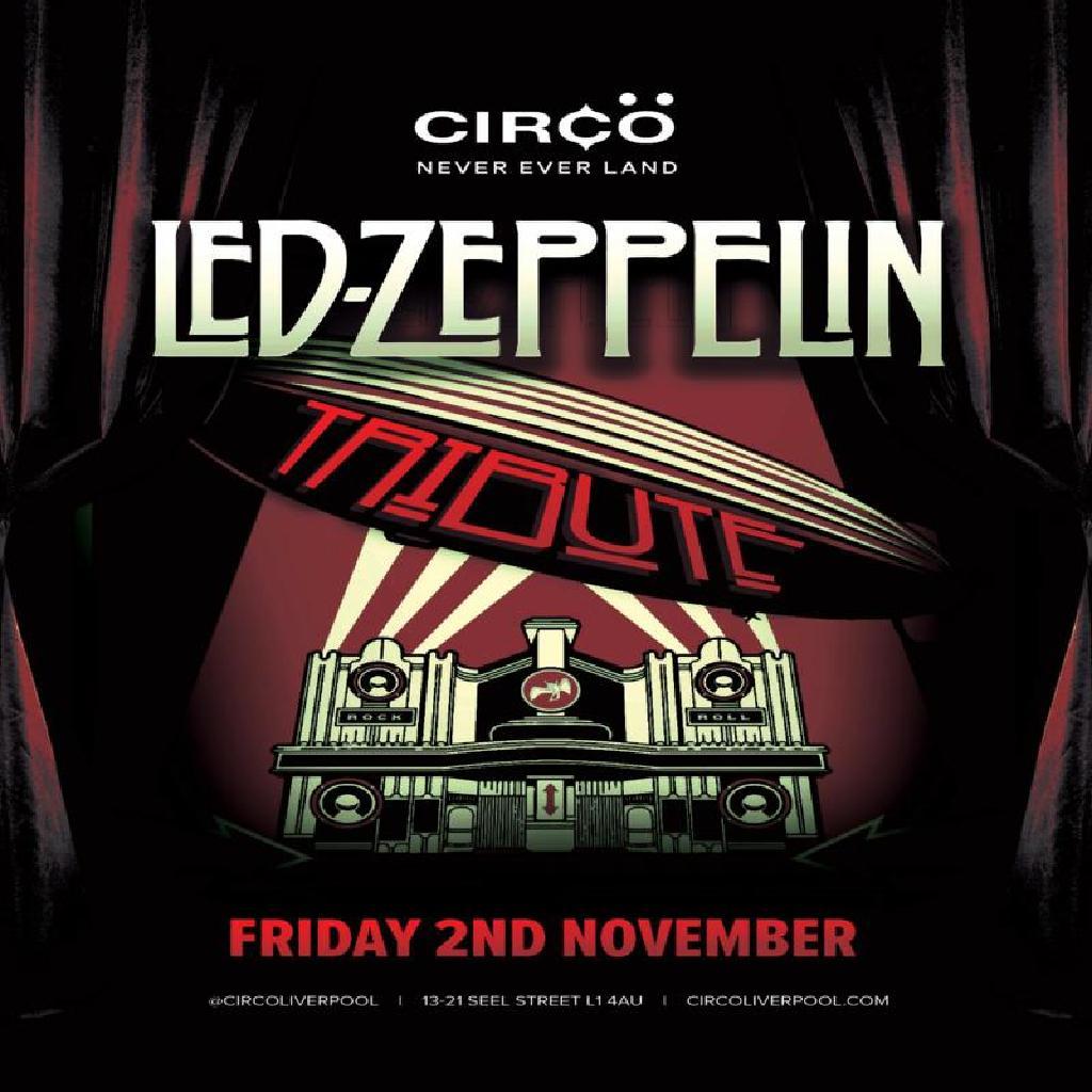 Led Zepplin Tribute Act 'Letz Zep'