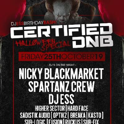 CERTIFIED DNB Halloween Special (NICKY BLACKMARKET)