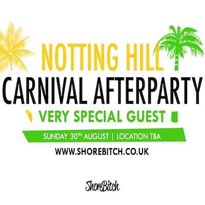 Shorebitch, Carnival After Party + Very Special Guest