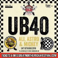 The Great Northern SKA Festival feat Ali Campbell