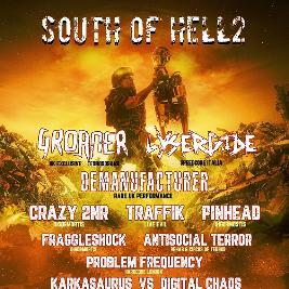 South Of Hell 2 Tickets   512 London Dalston    Sun 21st March 2021 Lineup