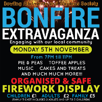 Bonfire Night Extravaganza & Firework Display