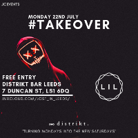LOST IN LEEDS - #TAKEOVER | Monday 22nd | £3 Drinks