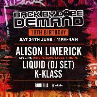 Back By Dope Demand 10th Birthday