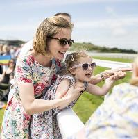 Family Race Day at Goodwood Racecourse