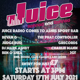 Juice Radio at Ashes Sports Bar Maidstone