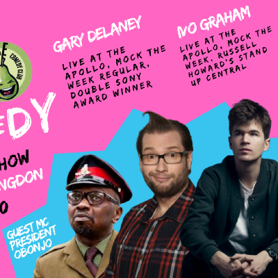 Best Stand Up Comedians 2020.Live Stand Up Comedy With Headliners Gary Delaney Ivo Graham At Commemoration Hall