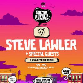 Social Avenue presents Warriors w/ Steve Lawler Tickets | Social Avenue Trafford Park  | Fri 26th February 2021 Lineup