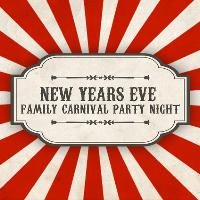 New Years Eve Family Carnival Party Night
