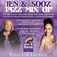 Jen and Sooz Jazz Mix Up 107 Meridian Fm