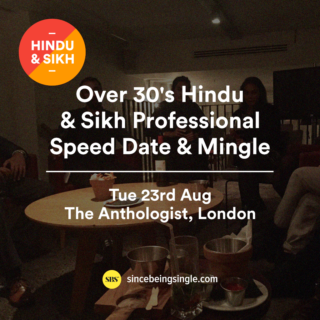 over 30s muslim speed dating london Speed dating for older adults has become much stitch is the real-life version of speed dating over 50 i am in bristol uk , where would i find speed dating.