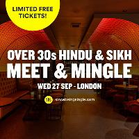 FREE Hindu & Sikh Meet and Mingle, London - Over 30s