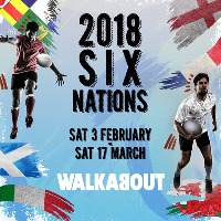 The 2018 Six Nations Live at the home of rugby - Walkabout!