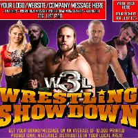 W3L Wrestling Showdown - Galashiels