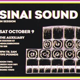 Teesside Dub Club Presents - Sinai Sound System