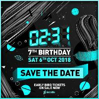 02.31 7th Birthday Birmingham (Digbeth) Save The Date