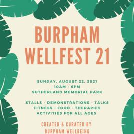 Burpham Wellfest 21