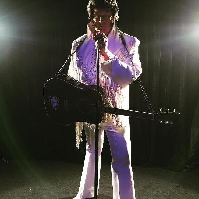 Lee Newsome as Elvis, The Legend Returns Show.