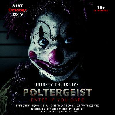Poltergeist Halloween Thursday | Thirsty Thursdays Launch Party