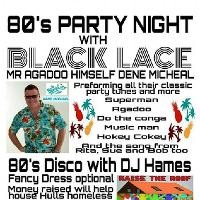 80's Party Night with Black Lace