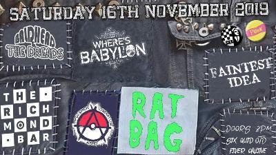 Faintest Idea Ratbag Where's Babylon BH&TD PLA
