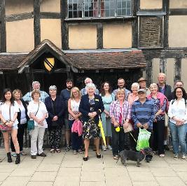 Monday guided walking tour