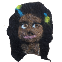 Wet-felted Faces - Create Together