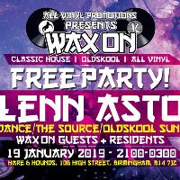 All Vinyl Promotions Presents: WAX ON – The Free Party
