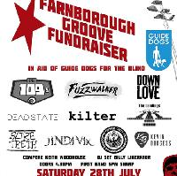 Farnborough Groove fund raiser for Guide Dogs For The Blind