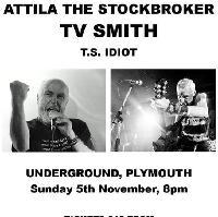 Attila The Stockbroker, TV Smith + Support