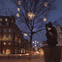 Chelsea Christmas Lights Switch On