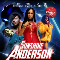 E Double D's Birthday Party With Sunshine Anderson Live on stage