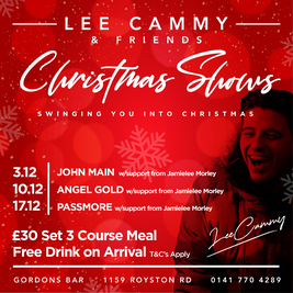 Lee Cammy presents: Swing into Christmas with John Main