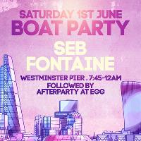 Amor Summer of Love A London Sunset Cruise with Seb Fontaine